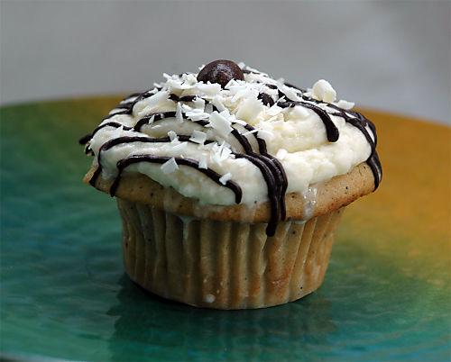 Raspberry-cupcake